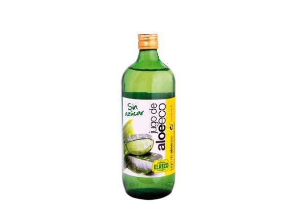 Jugo de aloe vera ecologico sin azucar