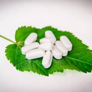 Comprimidos de plantas medicinales