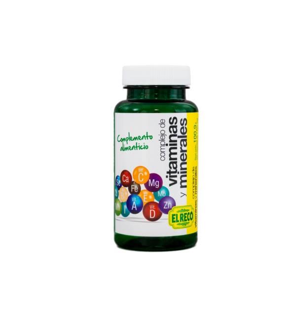 Complejo de Vitaminas y Minerales Reco